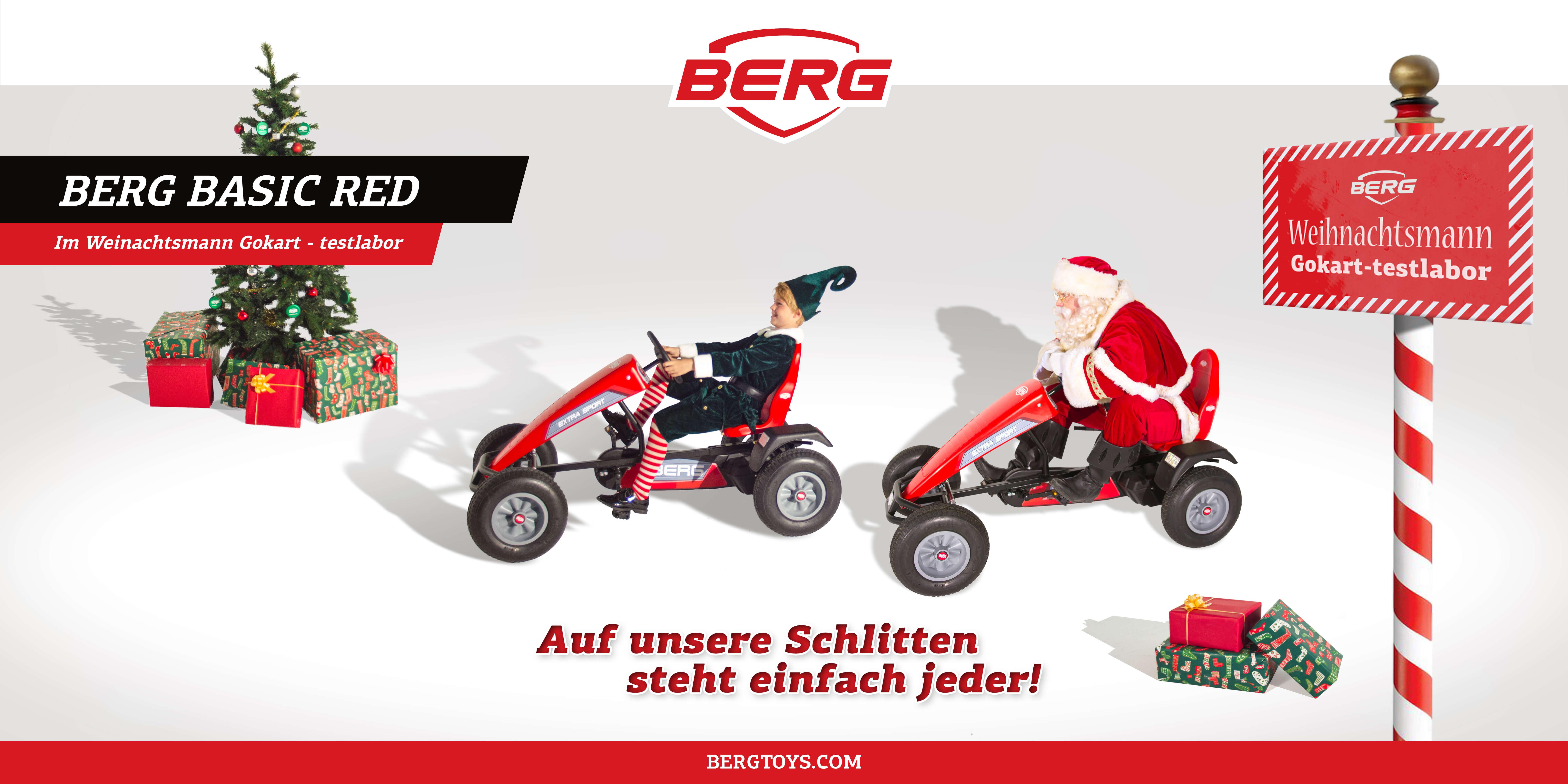 Lustig, lustig, Tralalalala – der Nikolaus ist mit dem Gokart da - gokart-profi.de