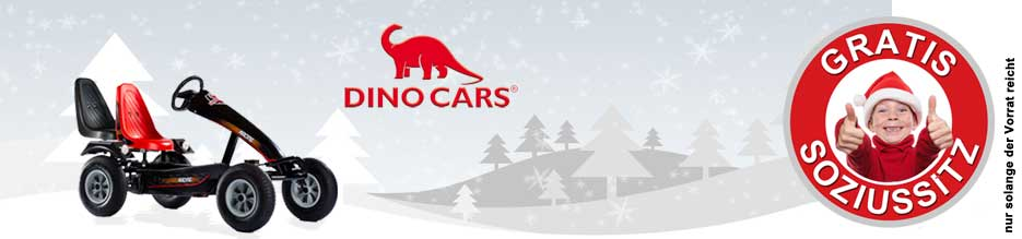 Aktion Gratis Zusatzsitz bei gokart-profi.de - DINO CARS Modelle