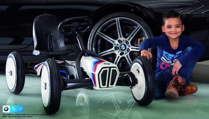 BMW Street Racer von Berg Toys - Kettcar putzen + pflegen - gokart-profi.de