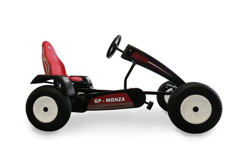 BERG-Gokart-Extra-BFR-GP-Monza-schwarz-rot - Ostergeschenk für 5 - 99 Jahre - gokart-profi.de