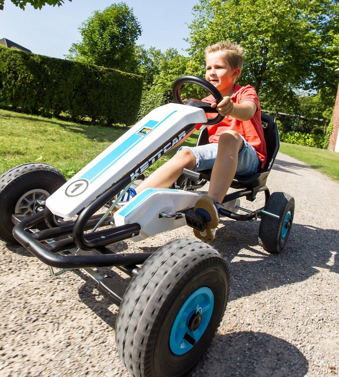 Richtig cool: KETTCAR Dakar Air Go Kart in blau bei gokart-profi.de