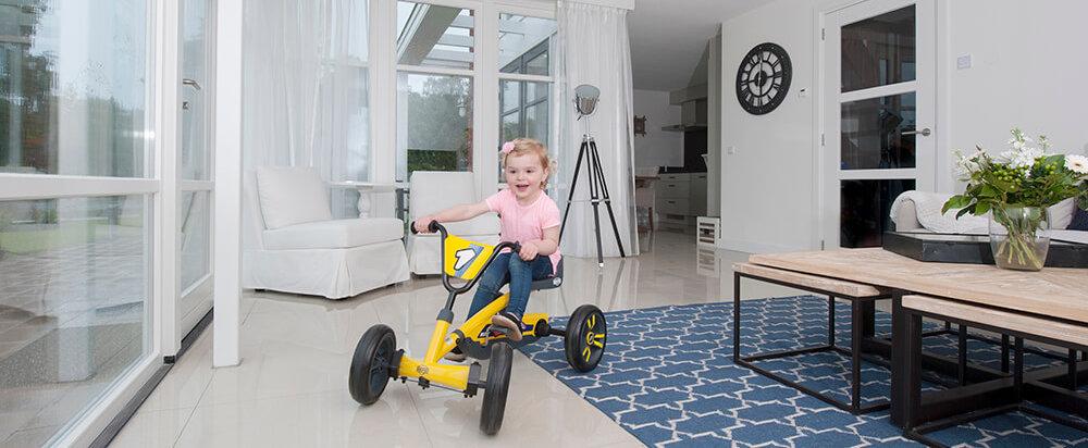 EVA-Bereifung bei BERG Buzzy Modellen - gokart-profi.de