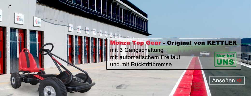 KETTLER Kettcar Monza Top Gear 3-Gang - gokart-profi.de