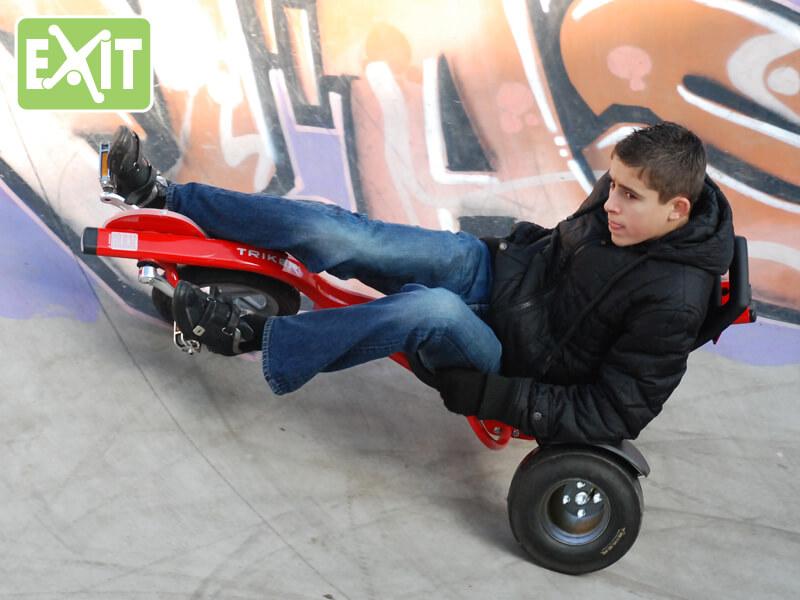 EXIT Triker Pro 100 - für ältere Kinder + Erwachsene 5 - 99 Jahre - gokart-profi.de