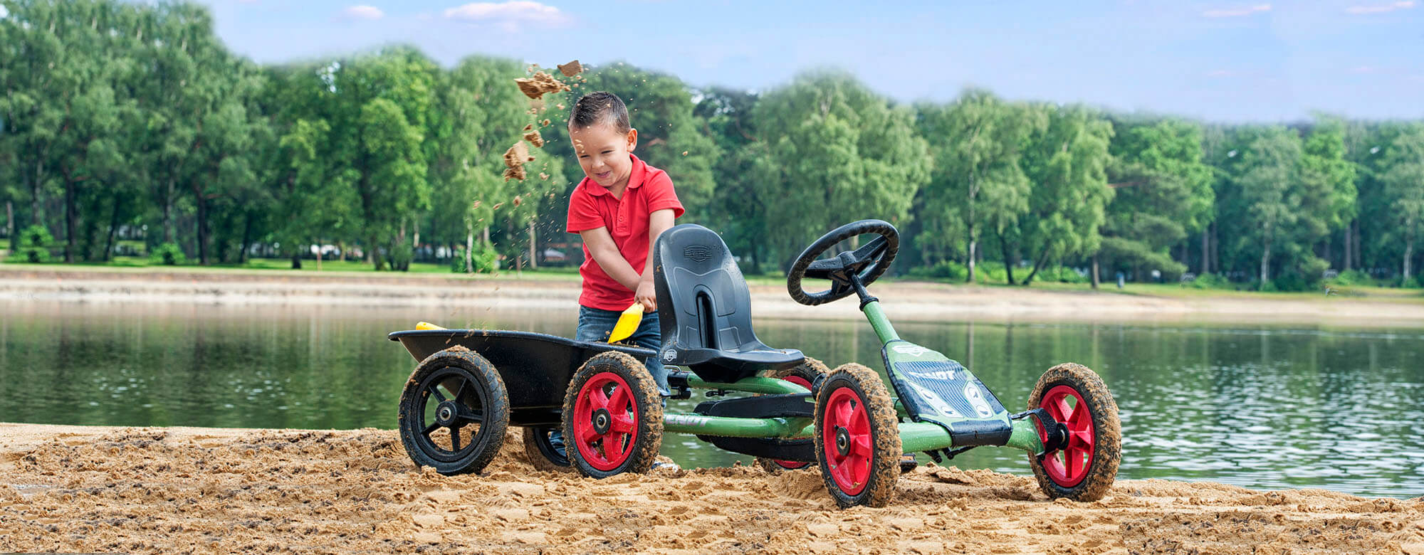 Ratgeber gokart-profi.de: Bestimmt haben Sie als Eltern schon bemerkt, wie gut Bewegung an der frischen Luft für Kinder jeden Alters ist