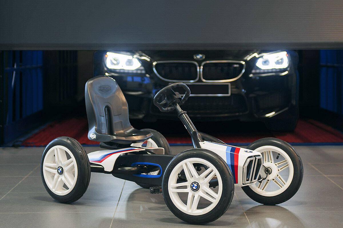 Gokart Check mit gokart-profi.de - hier Modell BERG BMW Street Racer