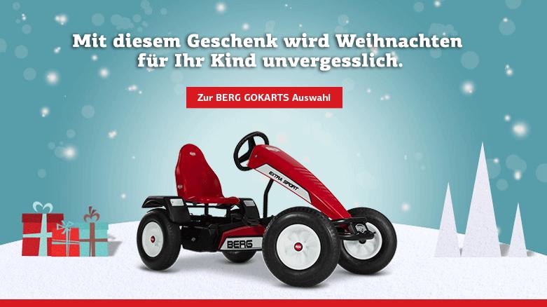 Gutschein von gokart-profi.de - hier BERG Extra BFR Sport Red - Weihnachten