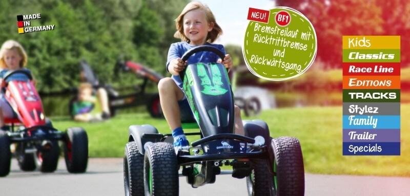 Dino Cars Messeneuheiten Spielwarenmesse 2017 - Gokart Profi live vor Ort