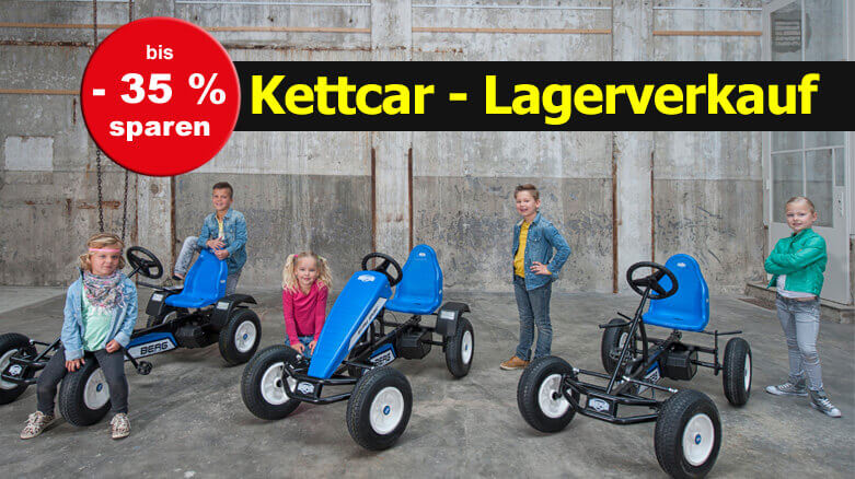LAGERVERKAUF zum Start in den Mai: Gokart, Kettcar & vieles mehr - gokart-profi.de