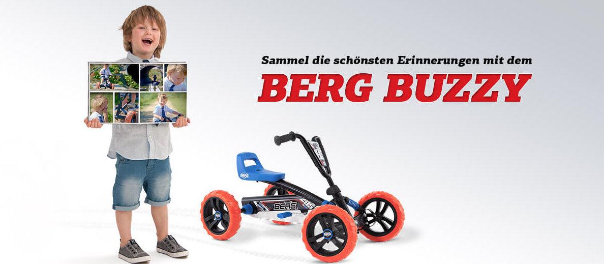 BERG Buzzy Momente - Kampagne 2017 gokart-profi.de