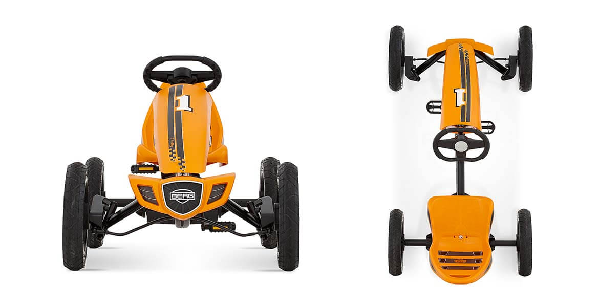 BERG Rally Orange - beste Bewertungen bei gokart-profi.de