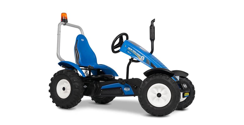 Go Kart in blau - BERG Traxx New Holland - gokart-profi.de