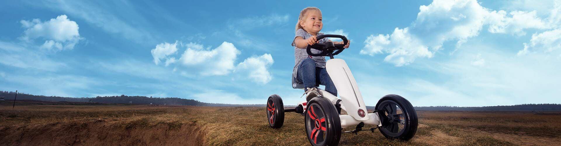 Fiat 500 wird 60 - hier die Kindervariante von BERG Toys - kaufen auf gokart-profi.de