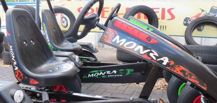 Go-Kart Sondermodell Dino CARS bei gokart-profi.de