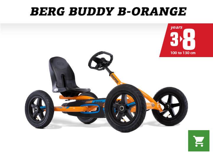 BERG Buddy B-Orange - kaufen auf gokart-profi.de