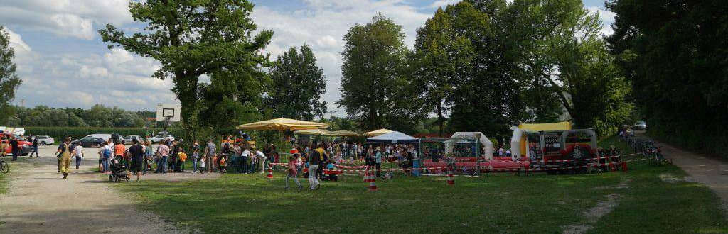 mobile Bahn bei der FFW Behringersdorf - Event Verleih gokart-profi.de Nürnberg