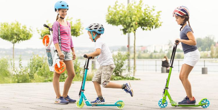 Weg in die Grundschule üben - Tipps von Gokart Profi - hier KETTLER Scooter auch erhältlich bei spiel-preis.de