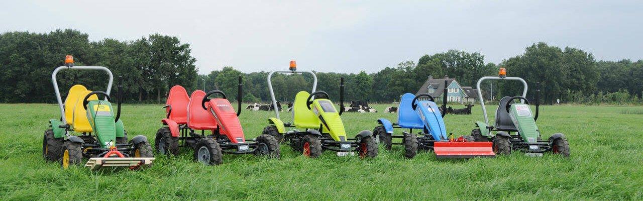BERG-Pedal-Gokart: Die verschiedenen Themen - BERG Farm bei gokart-profi.de