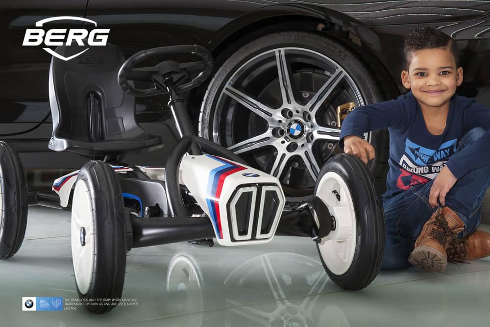 BERG Gokart Buddy BMW Street Racer BF-R - Weihnachtstipp - gokart-profi.de