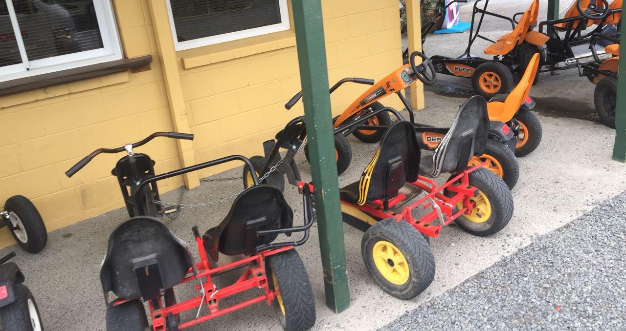 BERG Gokarts in Neuseeland: Urlaubsbilder aus Down Under - gokart-profi.de Kundenbilder