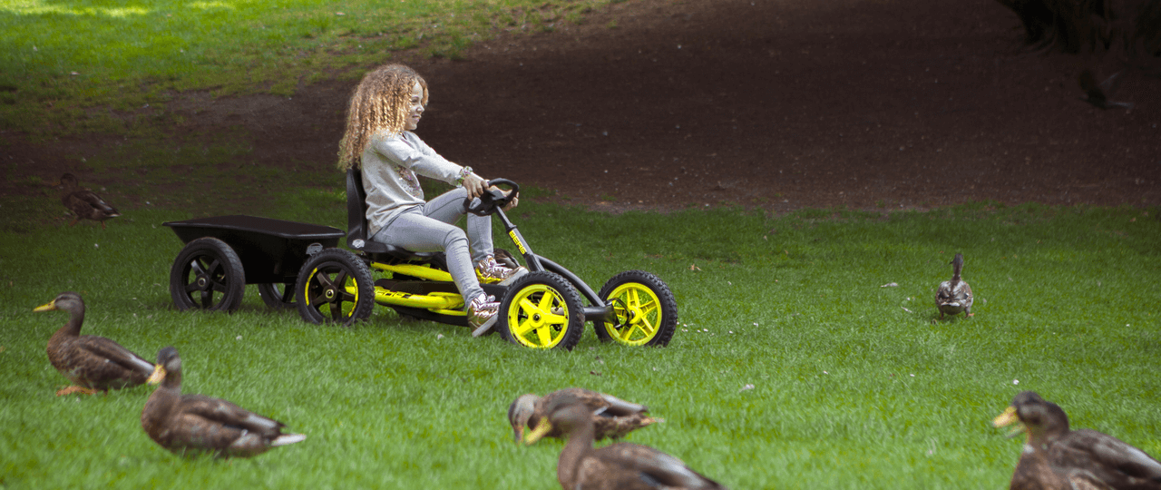 Warum ein BERG-Pedal-GoKart so viel Spaß bringt - Kettcar ab 3 Jahre - gokart-profi.de - Osterideen