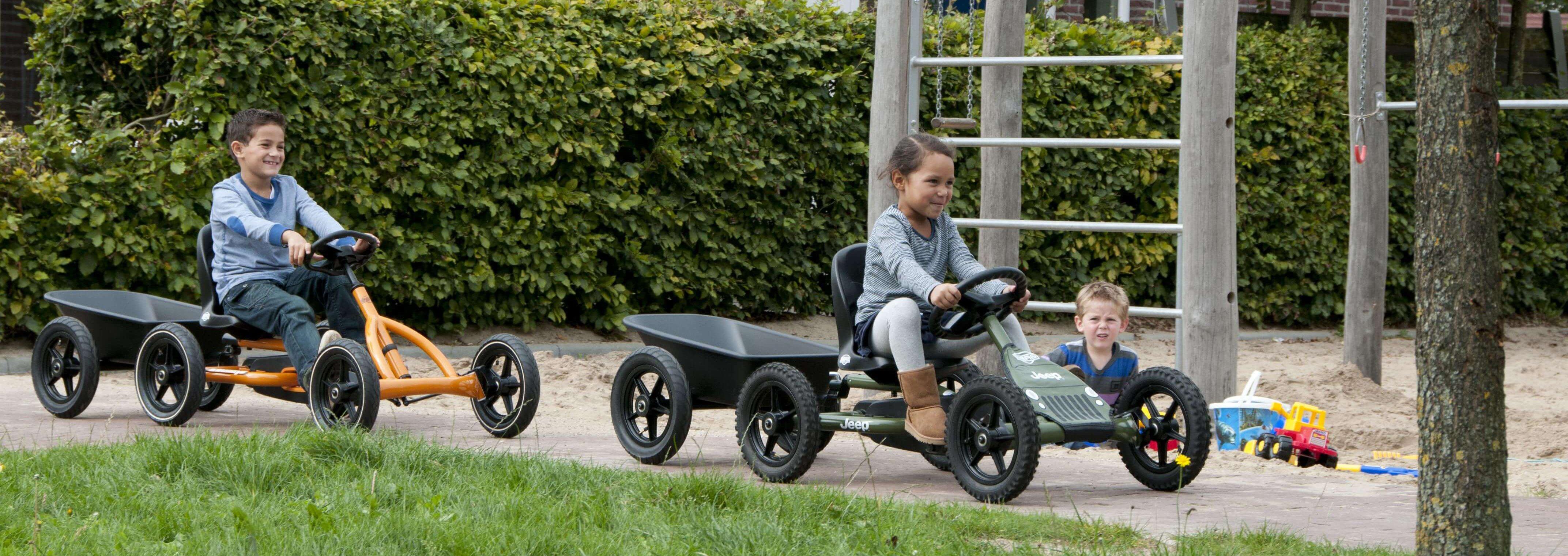 BERG Buddy und Anhänger - BERG Toys Sicherheit kaufen auf GOKART PROFI