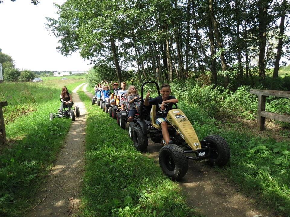 Gokart Geländetouren bei GOKART PROFI - mit BFR-3 wird die Tour viel entspannter