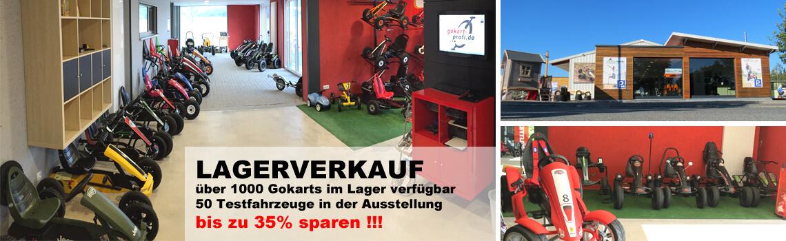 Oster Lagerverkauf Nürnberg am 14.03.2020 - gokart-profi.de