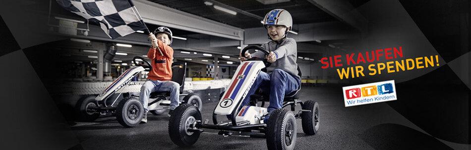 Klassiker Kettcar – hier Modell RTL Kids4Kids - kaufen auf gokart-profi.de