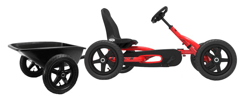 Limited Edition: BERG Gokart Buddy rot/schwarz Junior BF-R