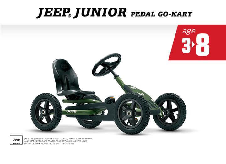 Jeep Junior von BERG - preisgünstig bestellen auf gokart-profi.de