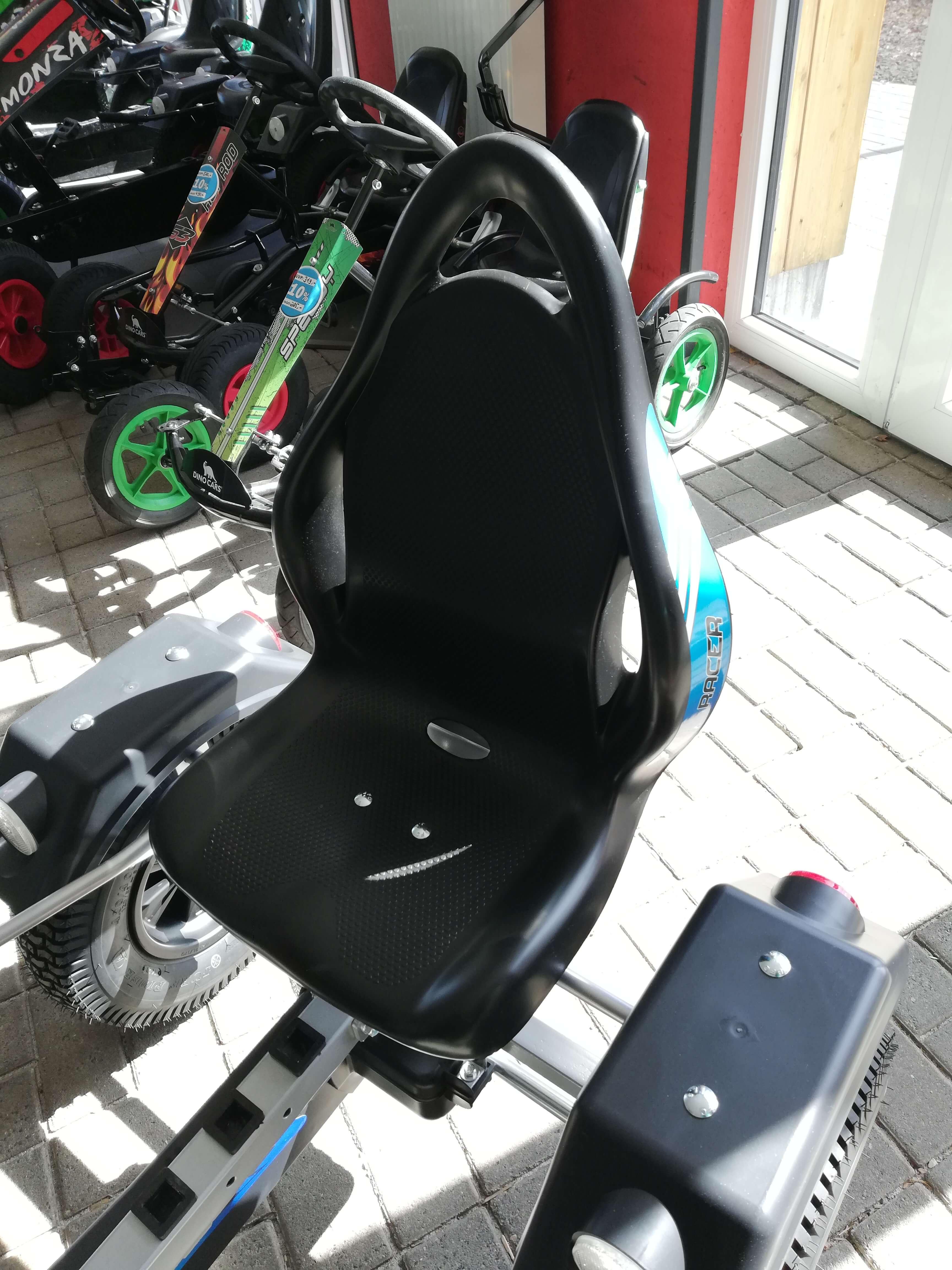 DINO CARS Silver Racer mit Komfortsitz - kaufen auf gokart-profi.de