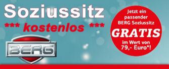 BERG Gokart inkl. Soziussitz gratis! Aktion auf gokart-profi.de
