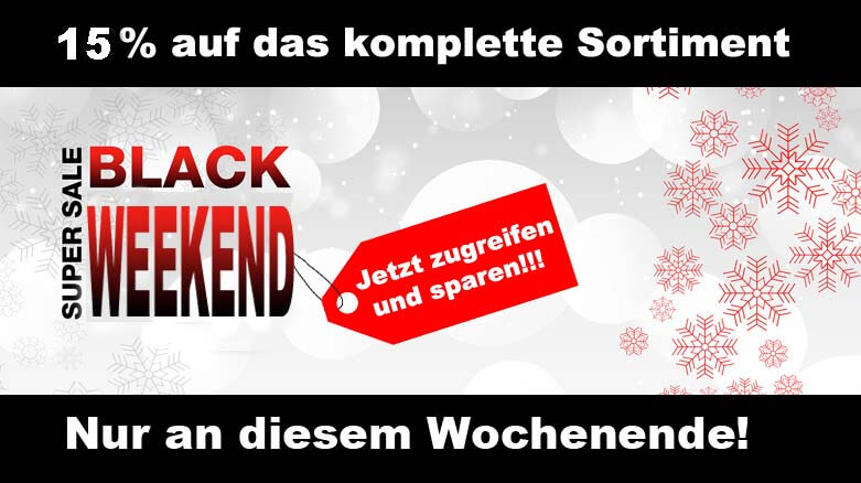 Black Weekend bei gokart-profi.de 23.11.2018 - 25.11.2018