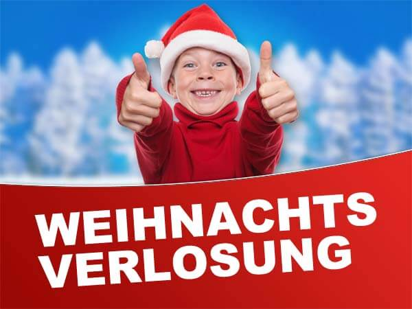 Weihnachtsverlosung 2018 bei gokart-profi.de