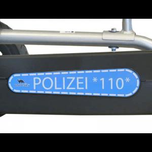 DINO Polizei Kinder Gokart: mit Blaulicht unterm Christbaum - gokart-profi.de