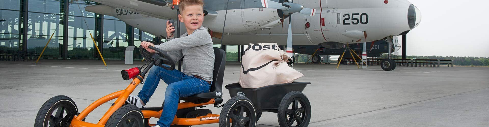 Pedal-Gokart-Zubehör zum BERG Buddy bei gokart-profi.de