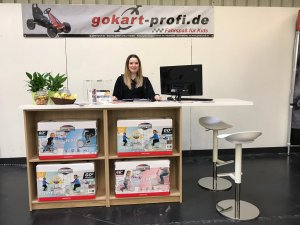 Impressionen vom Messestand: GOKART PROFI auf der Freizeitmesse Nürnberg