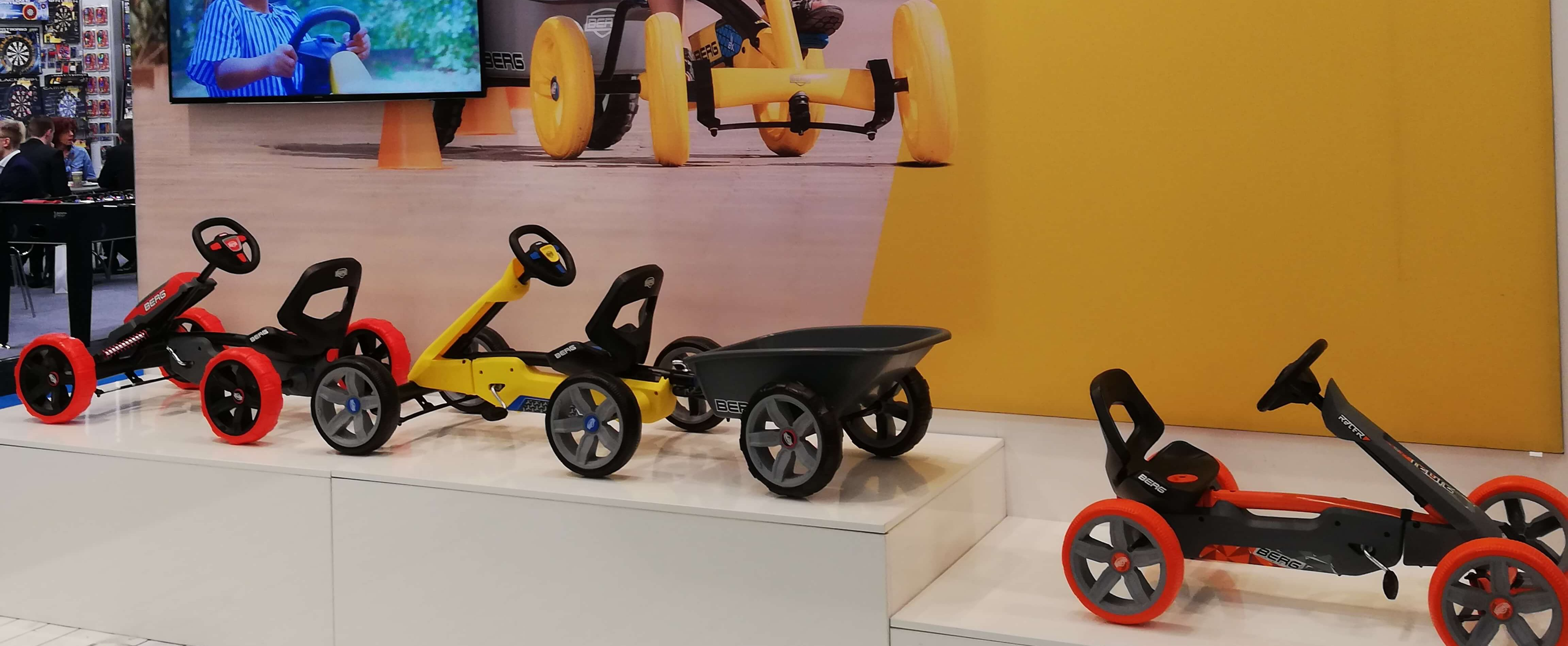 GOKART PROFI auf der Spielwarenmesse 2019: Neuheiten Überblick