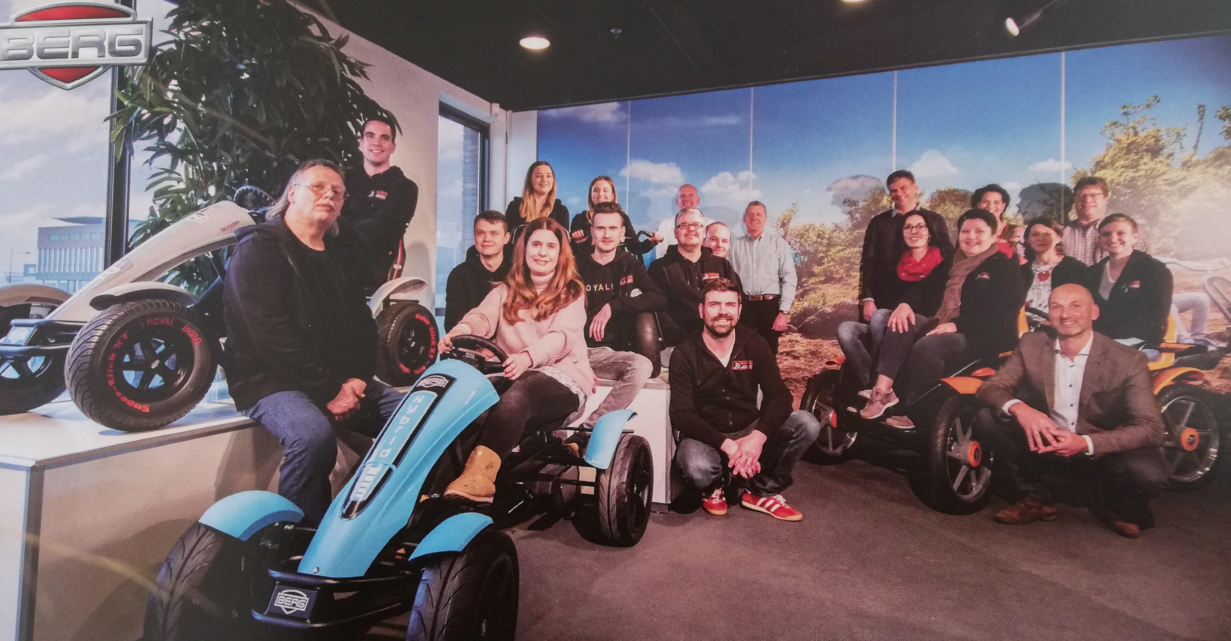 GOKART PROFI on Tour: Betriebsbesichtigung bei BERG Toys