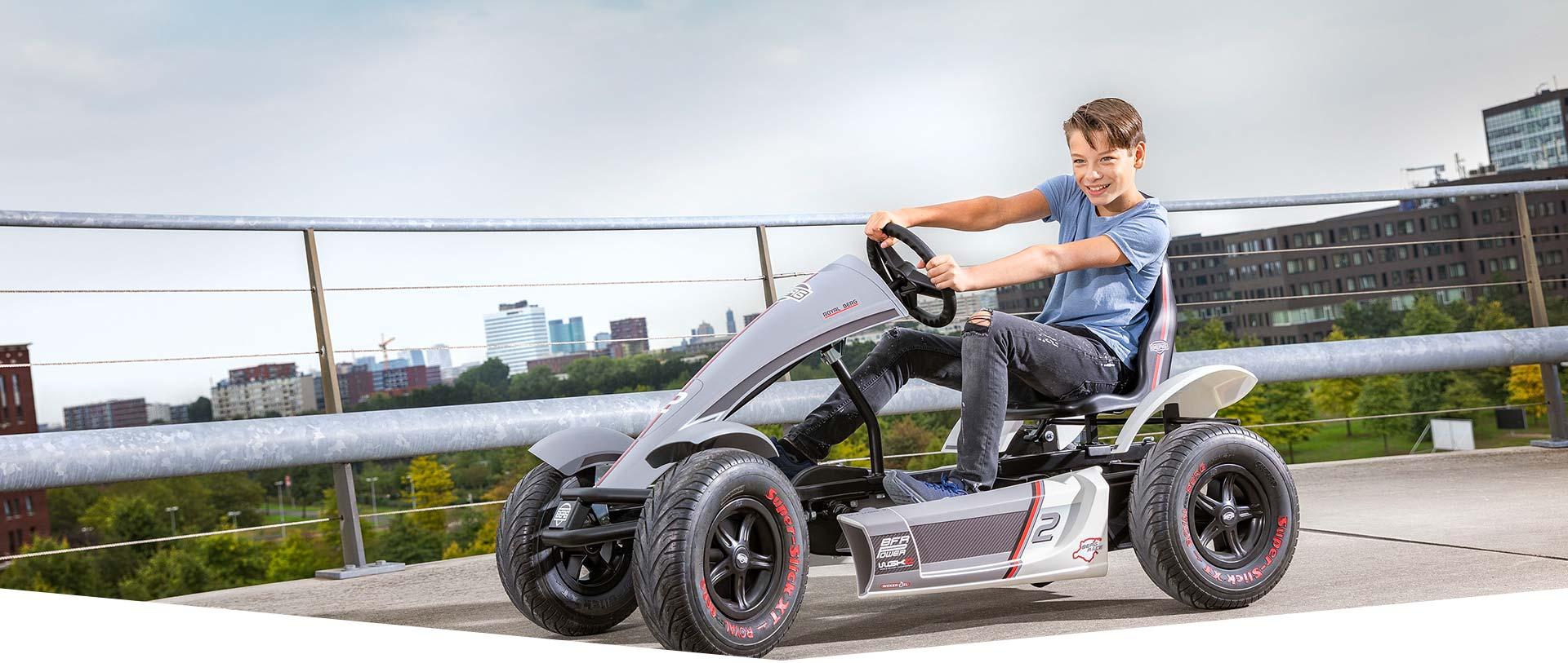Pimp my Pedal-Gokart BERG Race GTS FullSpec - kaufen auf gokart-profi.de