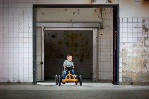 Neu + Cool: der BERG Buddy B-Orange startet durch - BERG Neuheit 2019 bei gokart-profi.de