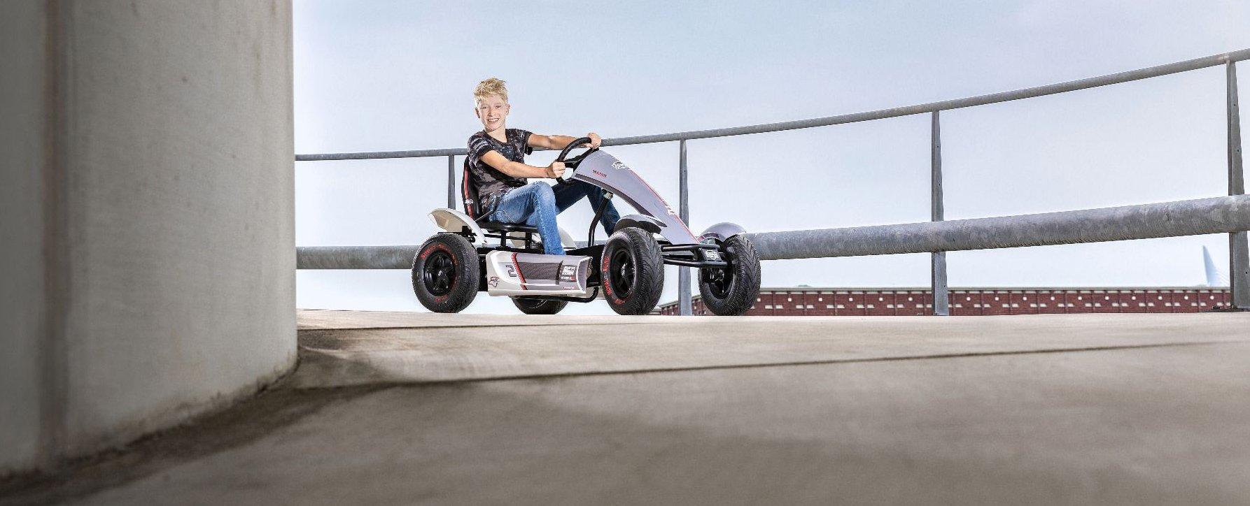 BFR-3 Gokarts - wie hier der BERG Race GTS - bescheren besonders viel Fahrspaß - gokart-profi.de