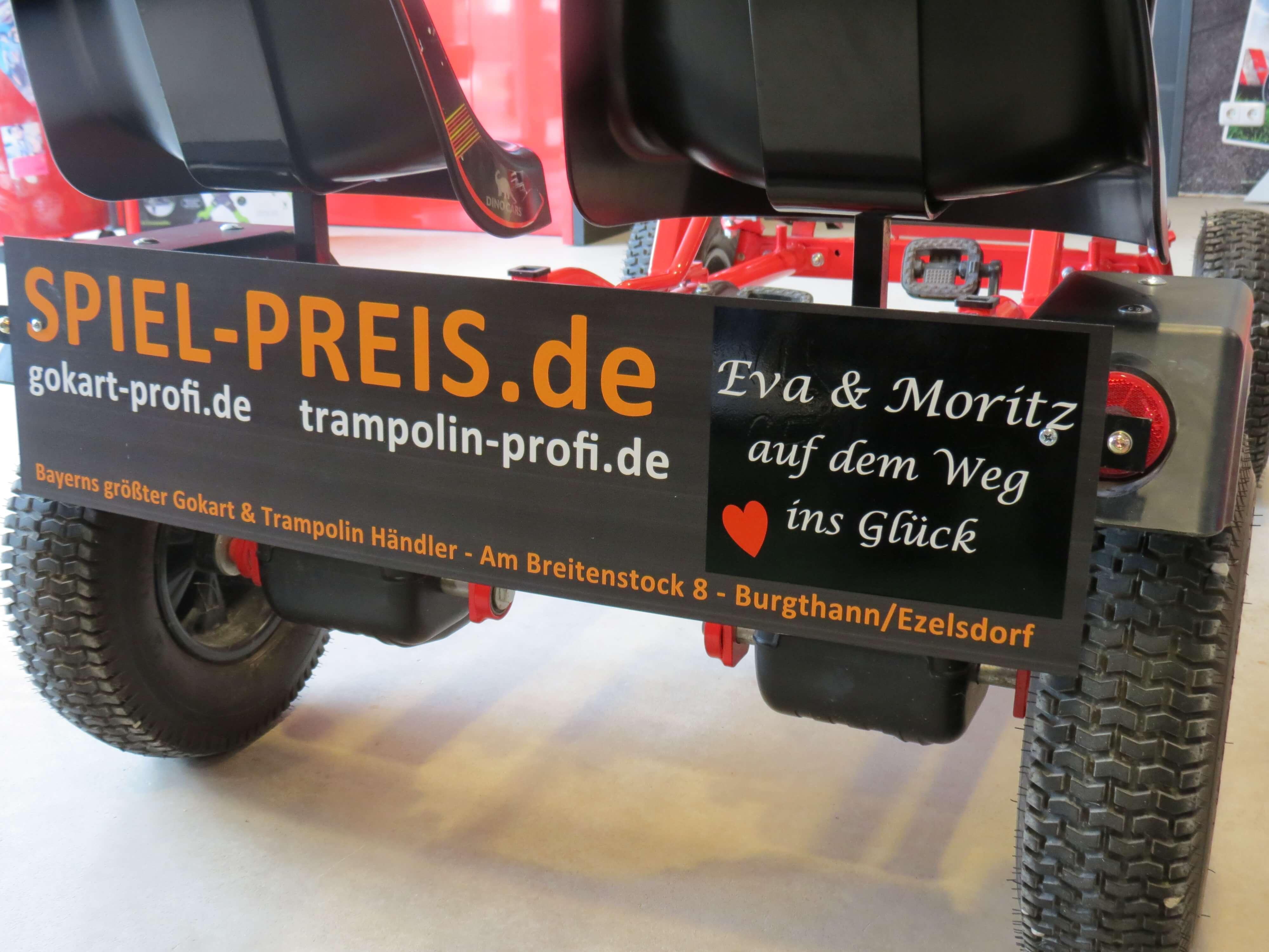 GOKART PROFI unterstützt ANTENNE BAYERN bei Bayerns längstem Hochzeitsmarsch