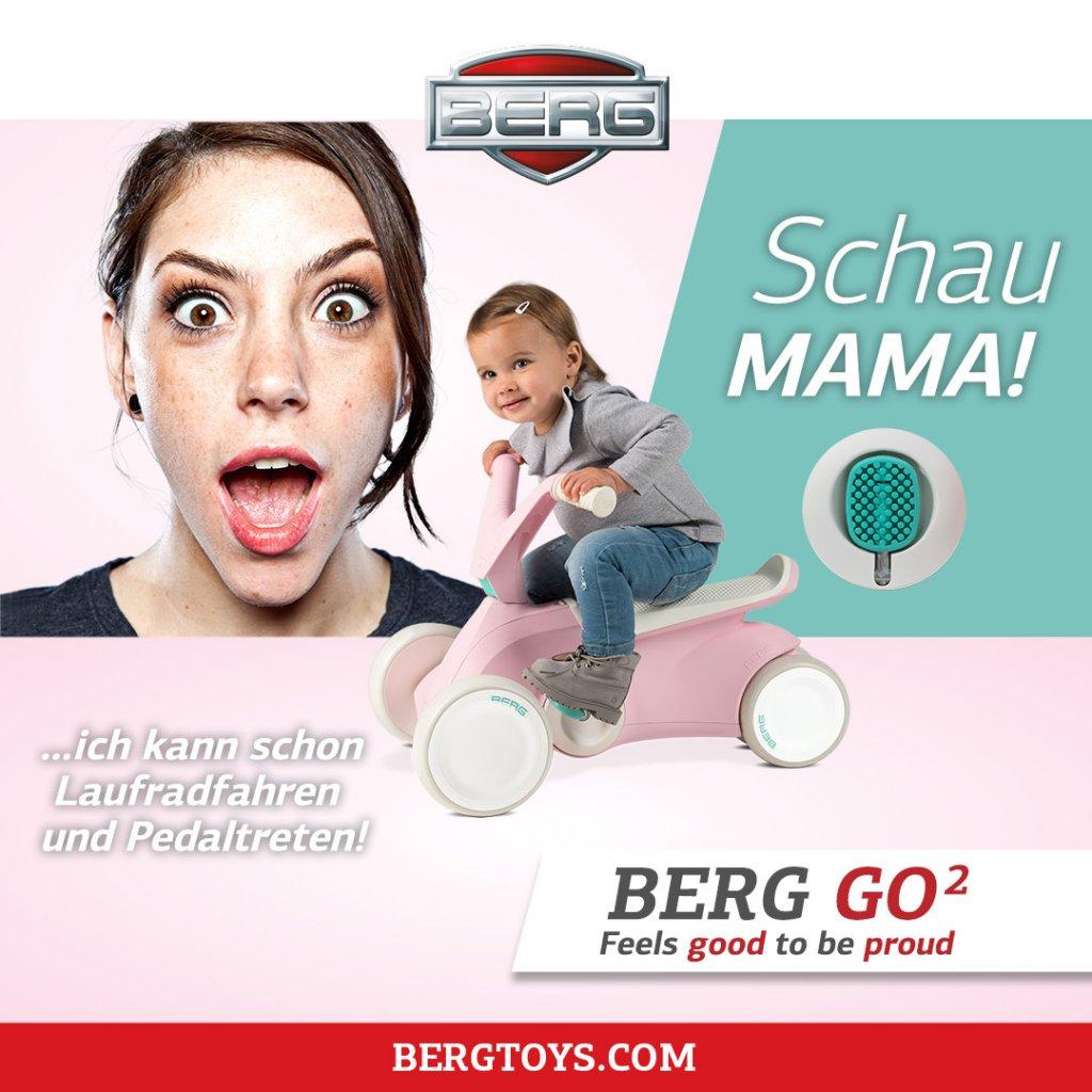 GOKART PROFI bringt innovativen Go² Babyrutscher zur Consumenta