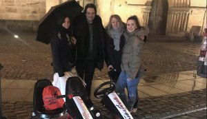 Eva & Moritz auf dem Weg ins Glück mit GOKART PROFI - Antenne Bayern Aktion