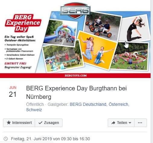 BERG Experience Day Burgthann bei Nürnberg - GOKART PROFI