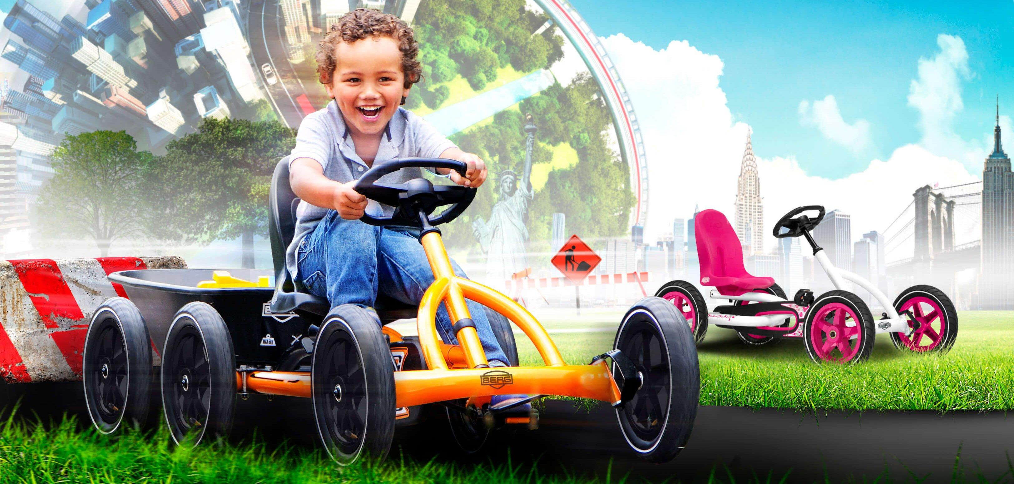 Gokart für Kinder 3 bis 8 Jahren - Kaufberatung und Tipps von GOKART PROFI