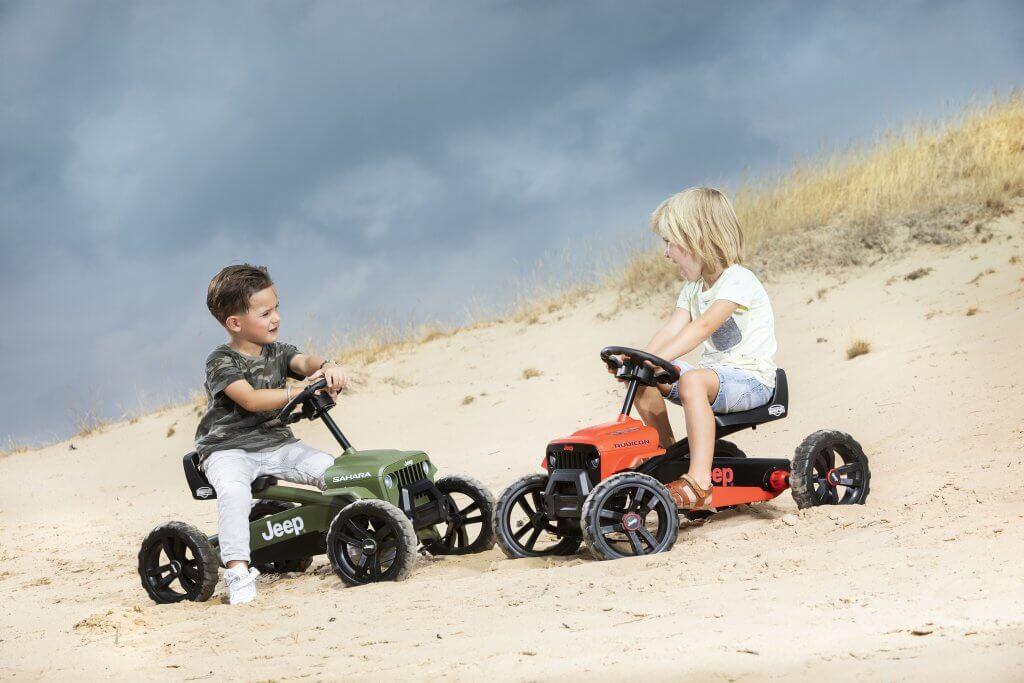 Gokart für Kinder, die 2 Jahre alt sind: BERG Buzzy Jeep Modelle kaufen auf gokart-profi.de