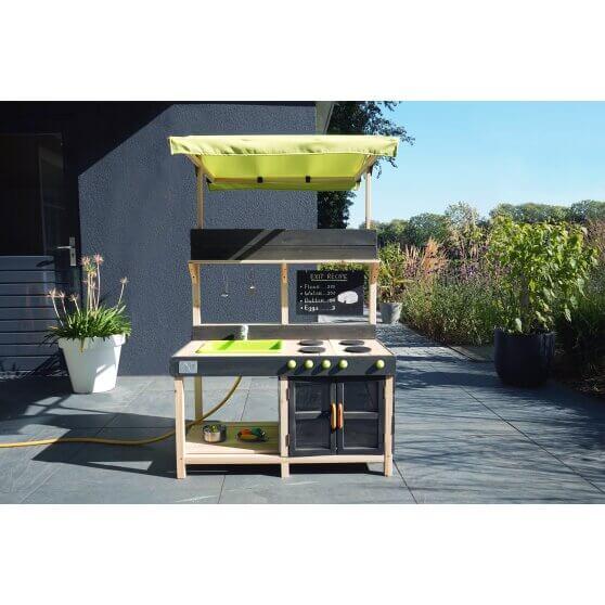 EXIT Yummy Holz- und Spielküche für Terrasse und Balkon - lieferbar bei spiel-preis.de